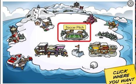 1Soccer Pitch Return