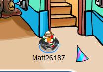 1 4th hat on floor